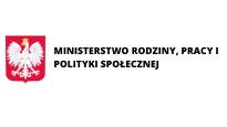 Logo Ministerstwo Rodziny, Pracy i Polityki Społecznej