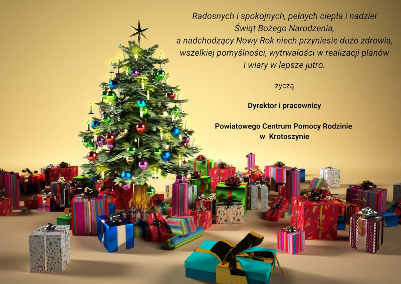 Radosnych i spokojnych świąt